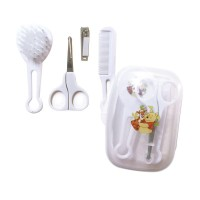 DISNEY WINNIE THE POOH GROOMING SET WITH CASE - WHITE - SISIR DAN GUNTING KUKU SET