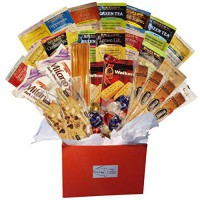 [poledit] Plenty 4 You Tea Biscotti Cookie and Lindt Chocolate Variety Red Gift Box (T1)/14702300