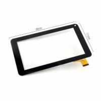 [globalbuy] New 7 inch For AKAI MID-743 Tablet Touch screen Panel Digitizer Glass Sensor r/3461810