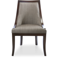 Rosewood Felicia Dining Chair With Arms Khusus Jabodetabek