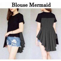 Blouse penguin mermaid