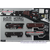 RAIL KING TRAIN SET 4 gerbong - KERETA API RAIL BO