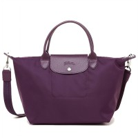 Longchamp 001 Le Pliage Neo Small Tote Bilberry