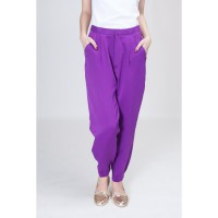 Neon Joker Trousers Purple