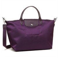 Longchamp 002 Le Pliage Neo Medium Tote Bilberry