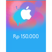 Itunes Gift Card Indonesia 150rb / IGC INDO 150K