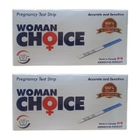 Woman Choice + Wadah Test Kehamilan - 2 Pcs