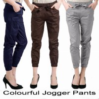 [2 size] Best Seller Jogger Pants  Wanita fit to L - XXL