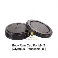 Body Rear Cap M4/3 (Olympus, Panasonic, dll)