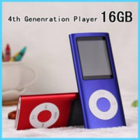 [globalbuy] New 4th Gen 16GB 1.8 inch Lcd Screen MP3 Player Comes With 16G Of Memory And V/2340788