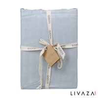 Nevada Blue Fitted Sheet
