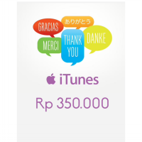 Itunes Gift Card Indonesia 350rb / IGC INDO 350K