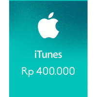 Itunes Gift Card Indonesia 400rb / IGC INDO 400K