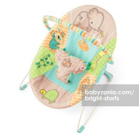 Bright Starts Patchwork Zoo Bouncer - Vibrate