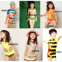 CUCI GUDANG DISCOUNT 50% ~Cutevina~ Kids Fashion Swimsuit