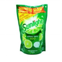 Sunlight Pencuci Piring New Ref Lime Pch 435ml
