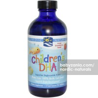 Nordic Naturals Children's DHA 237ml - Strawberry
