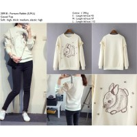Fortune rabbit casual top S,M,L - 20918