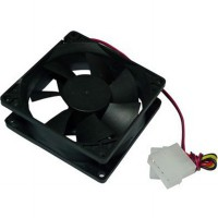 Fan Casing PC 8cm Black