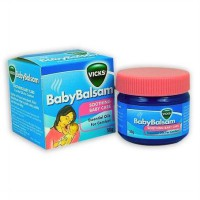 Vicks Baby Balsam Soothing Baby Care Size 50gr