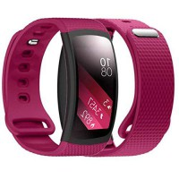 [poledit] Dreaman Luxury Silicone Watch Replacement Band Strap For Samsung Gear Fit 2 SM-R/14577229