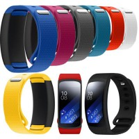 Luxury Silicone Watch Replacement Band Strap For Samsung Gear Fit 2 SM-R360 Wristband