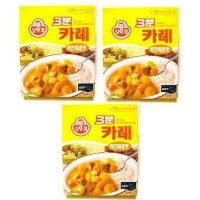 [poledit] Ottogi 3 Minute Curry Medium Spicy Flavor, Product of Korea 6.7 Oz Each: 3 Packs/14685236