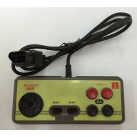 [globalbuy] Japanese 8-bit console style NES 7Pin Plug Cable Controller, GamePad with Turb/3452121