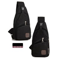 Tas Selempang Sling bag Bodypack bag Slingbag BSLL812Black