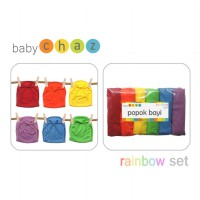 Baby Chaz Rainbow Baby Diapers 6in1 - Popok Bayi