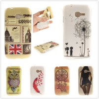 [globalbuy] Sexy Girl Owl Tiger Lion Soft TPU Back Cover for Samsung Galaxy Star Pro S7260/3680342