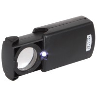 30X Pull-type Jewelry Magnifier with LED Light Source SJ0041