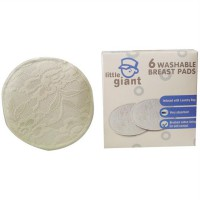 Little Giant 6pc Washable Breastpad/ BreastPad Bisa Cuci Ulang