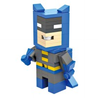 HSANHE BLOCK 6301 Action Figure Cube Nano Micro World Series Batman Classic Custom