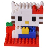 LDL 101 Action Figure Nano Blocks World Series Hello Kitty
