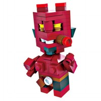 HSANHE BLOCK 6312 Action Figure Cube Nano Micro World Series Hellboy