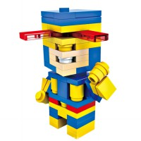 HSANHE BLOCK 6308 Action Figure Cube Nano Micro World Series Cyclops