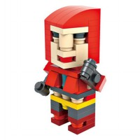 HSANHE BLOCK 6315 Action Figure Cube Nano Micro World Series Magneto