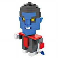HSANHE BLOCK 6314 Action Figure Cube Nano Micro World Series Nightcrawler
