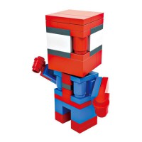 HSANHE BLOCK 6306 Action Figure Cube Nano Micro World Series Spiderman