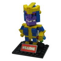 HSANHE BLOCK 6327 Action Figure Cube Nano Micro World Series Thanos