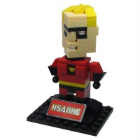 HSANHE BLOCK 6340 Action Figure Cube Nano Micro World Series Mr. Incredible