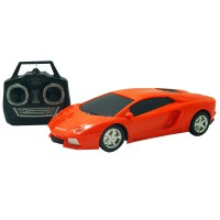 Mobil Sport Remote Control Speed Racing Mainan Anak - Ocean Toy - GSH222-2A - Orange/Merah