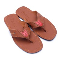 Dr.Kevin Sandals Leather 97164 Tan