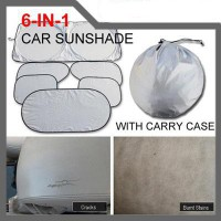 Sarung Cover Mobil Pelindung Mobil 6 In 1 Sunvisor Car Cover