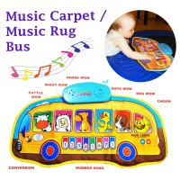 Music Carpet / Magic Rug / Playmat / Alas Bermain Bus Car Animal