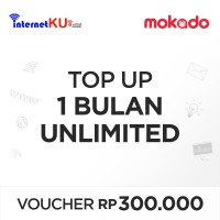 [InternetKu] Voucher InetKu Top-Up 1 Bulan Unlimited