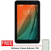 Advan Vandroid i7A 4G LTE - 8GB - Coffee Gratis Silicon Case