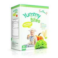 Yummy Bites Flavor Vegetable Size 50gr Flavour Vegetable Age 6M+