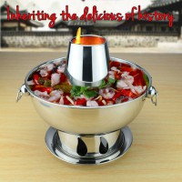 [globalbuy] 1.8 liters High quality stainless steel hot pot, Chinese fondue Lamb Chinese C/3745465